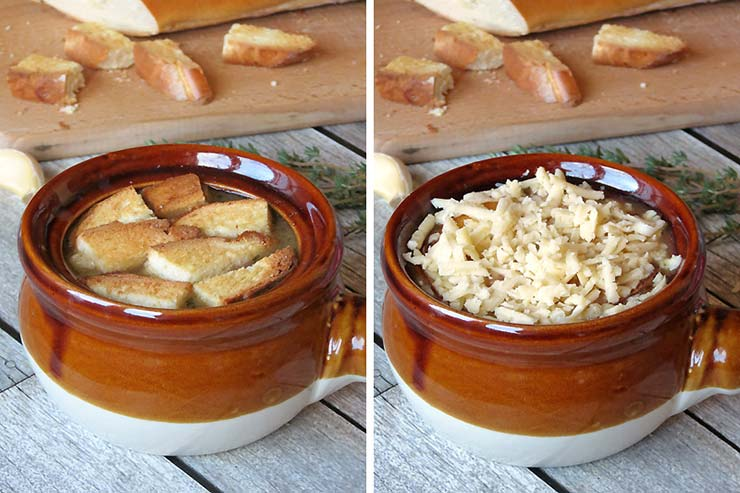 French Onion Soup | yummyaddiction.com