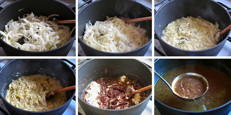 How To Make French Onion Soup | yummyaddiction.com