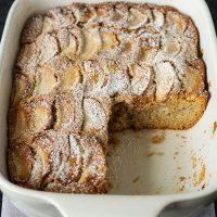 Moist & Tender Apple Cake