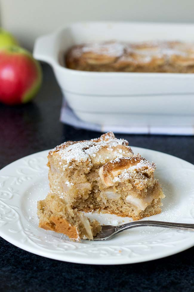 Super Easy Apple Cake | Yummy Addiction
