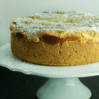 Italian Ricotta & Mascarpone Cheesecake