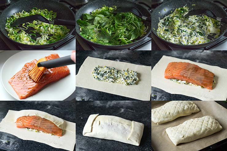 How To Make Salmon Wellington