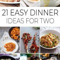 21 easy dinner ideas for two pinterest pin