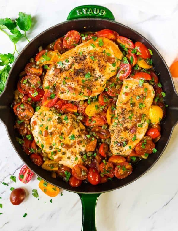 15 Best Skillet Chicken Recipes