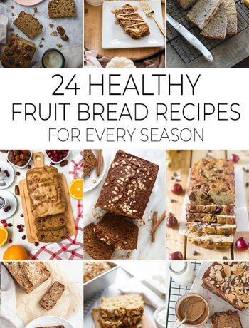 Healthy Fruit Bread Recipes featured image