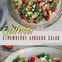 Quinoa summer salad pinterest pin