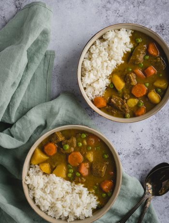 Slow cooker Japanese beef curry