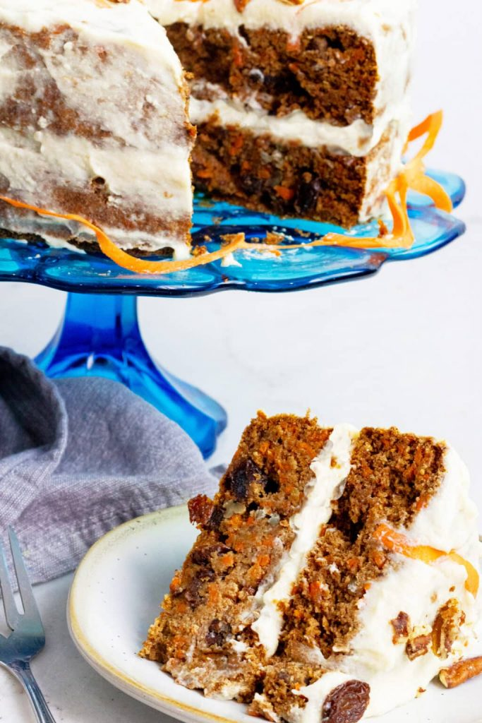 One bowl gluten-free carrot cake