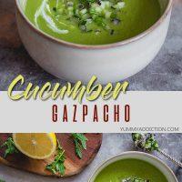 Cucumber gazpacho pinterest pin