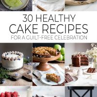 Healthy cake recipes featured image