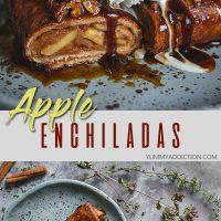 Apple enchiladas pinterest pin