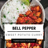 Bell pepper curry pinterest pin