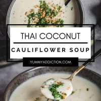 Thai cauliflower soup pinterest pin