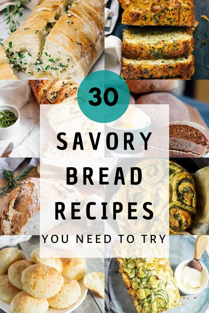 Savory bread recipes featured image