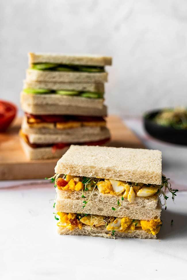 Indian-Style Tea Sandwiches