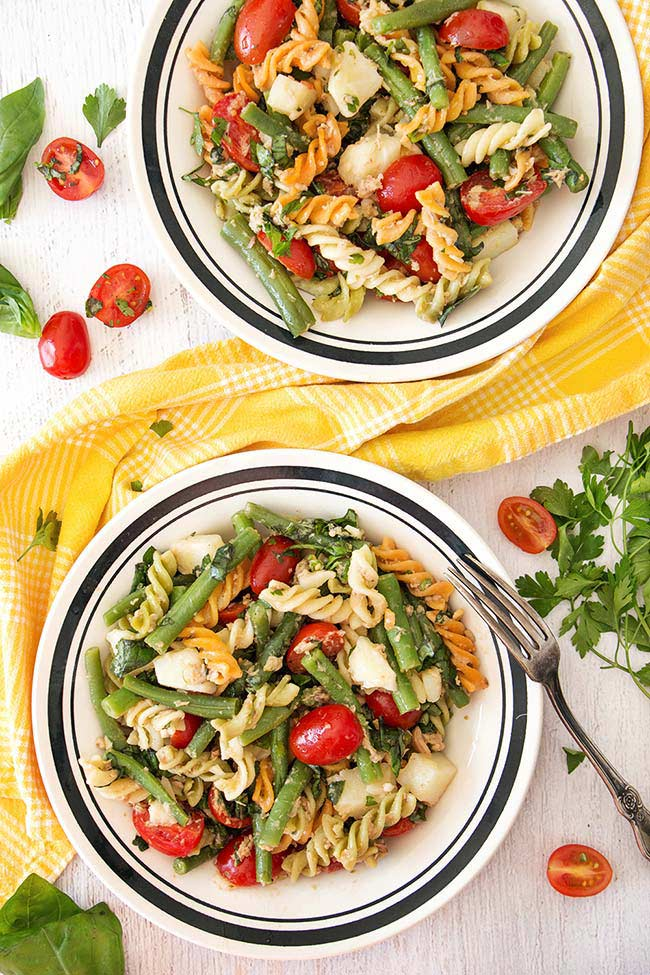 Tuna and Green Bean Pasta Salad
