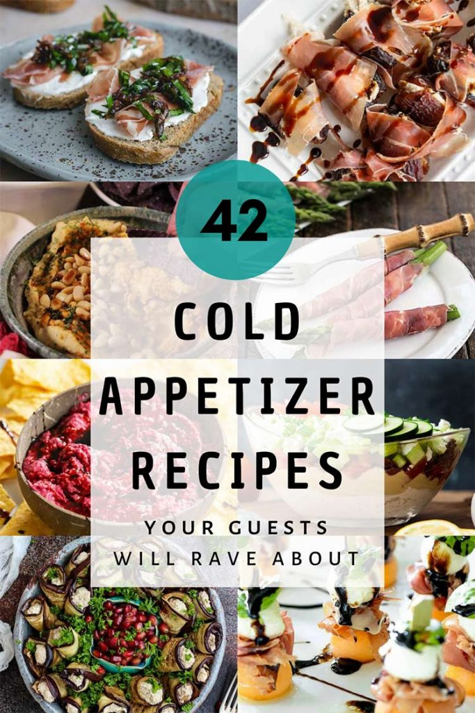 Cold appetizer recipes featured image