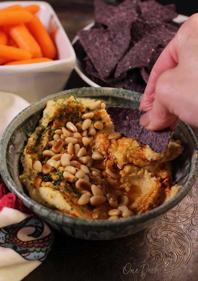 Small Batch Hummus