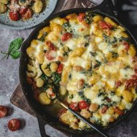 Featured image of baked gnocchi