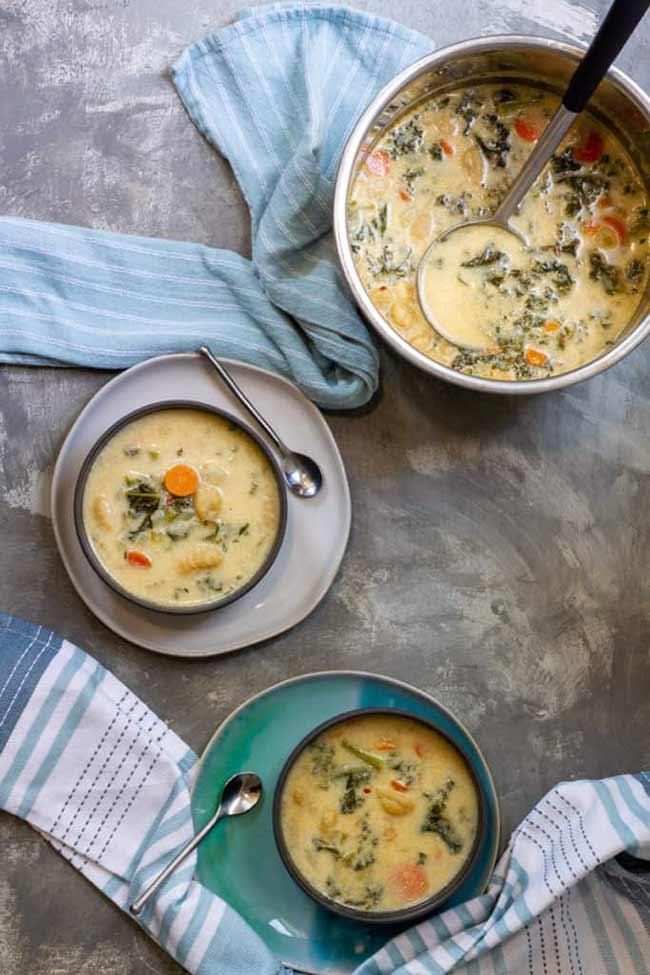 Vegetable Gnocchi Soup