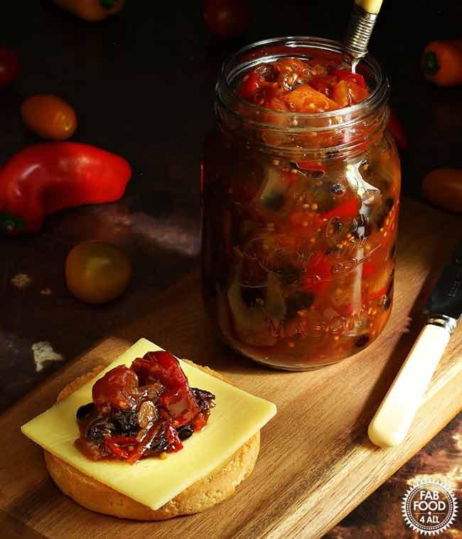Spicy Baby Tomato & Sweet Pepper Chutney