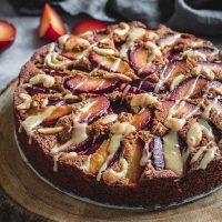 Plum cake featured