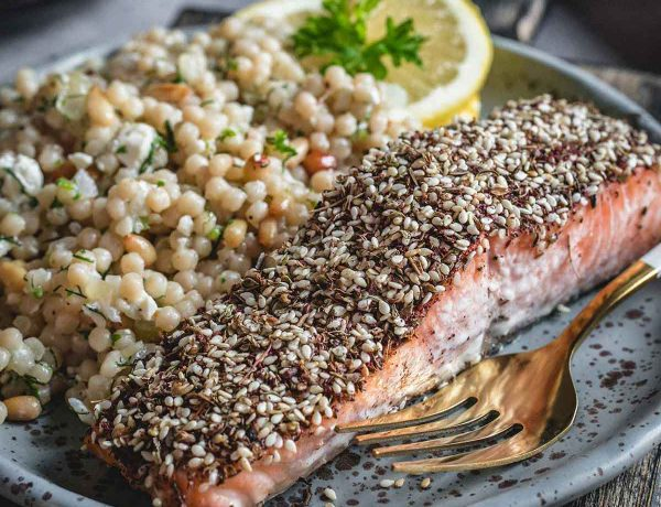 Roasted salmon featured image